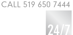 Call 519 650 7444 One-Stop Service 24/7